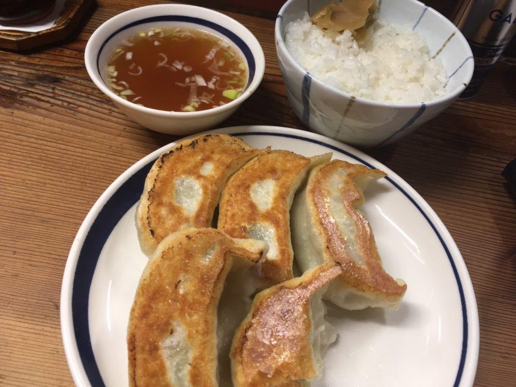 一圓 吉祥寺本店 餃子ライス