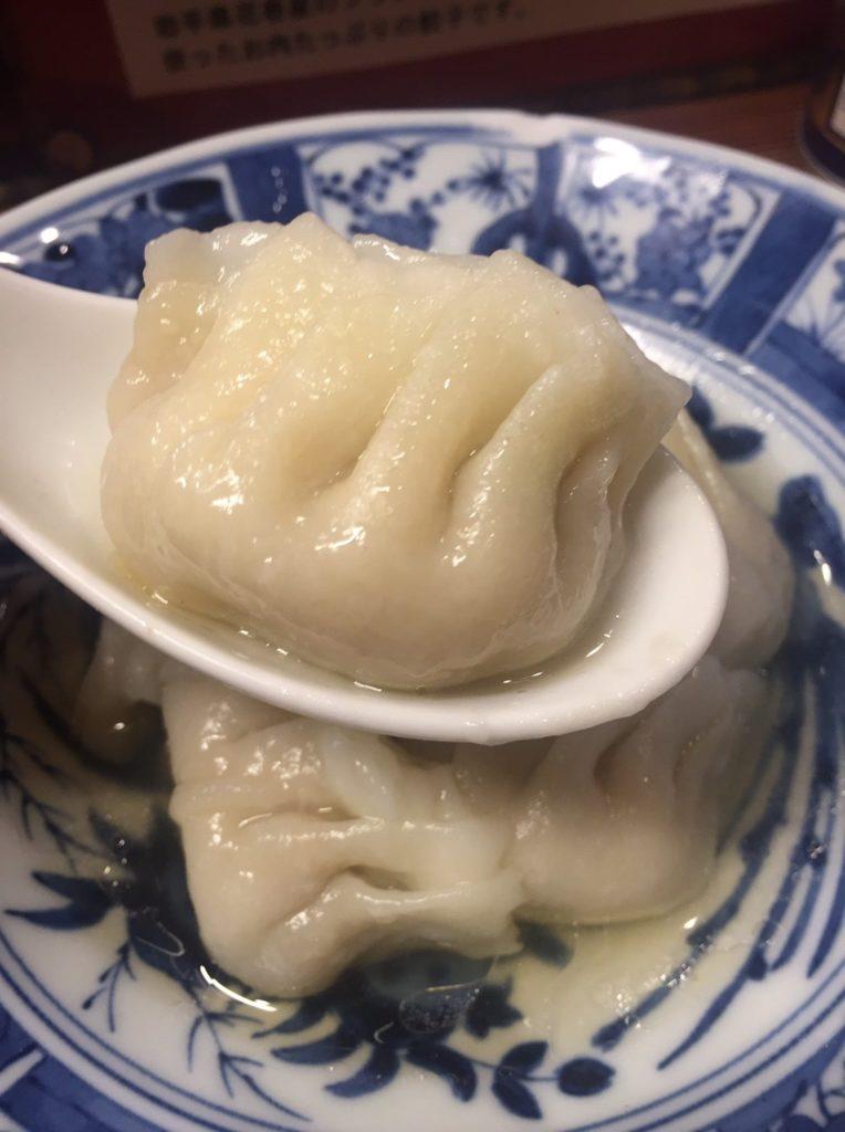 一圓 吉祥寺本店 鶏しそゆで餃子2