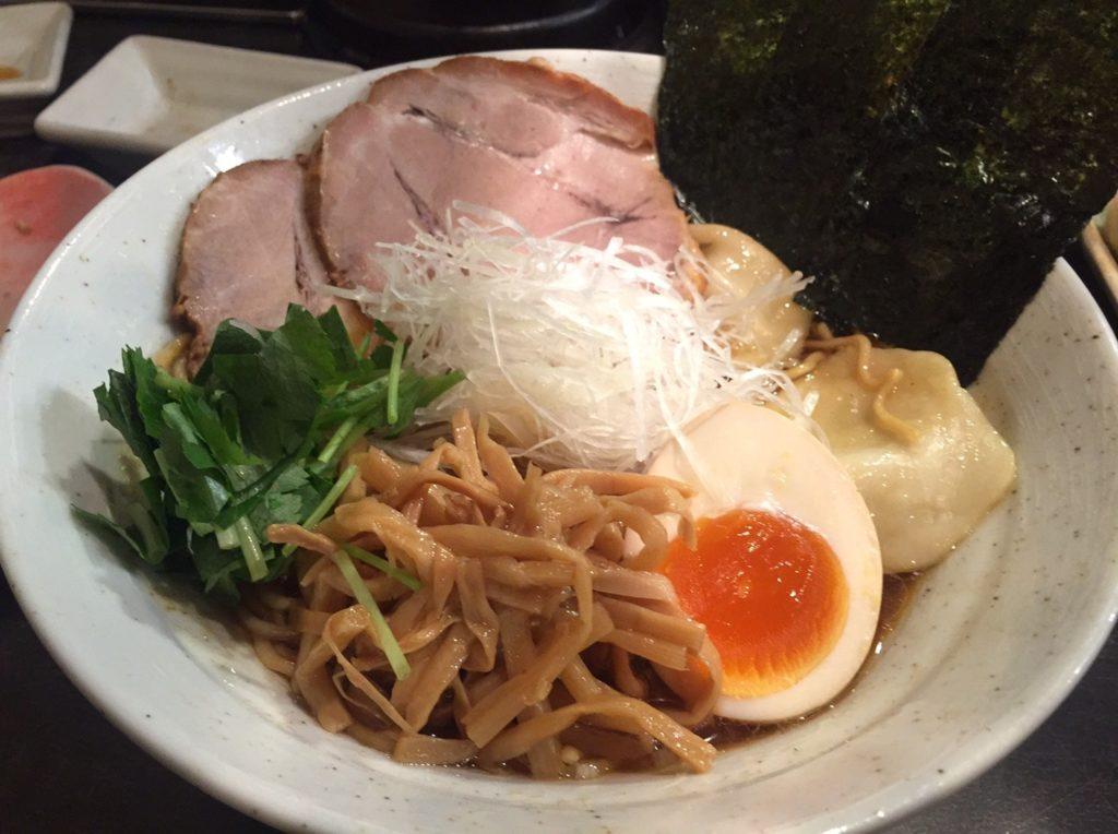 麺や そめいよしの 西荻窪店 特製らーめん・しょうゆ4