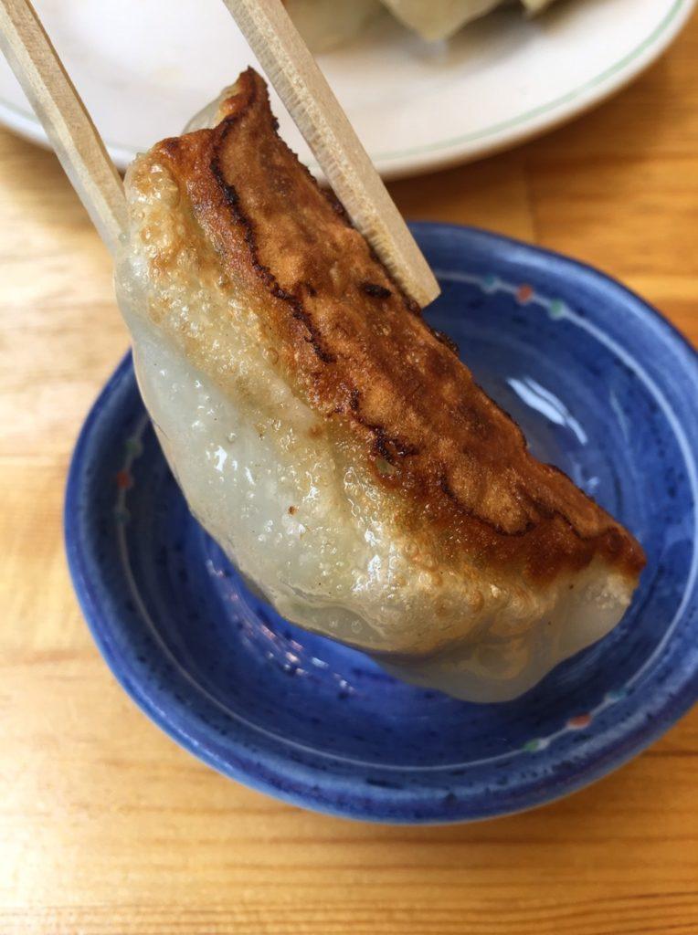 馬さん餃子酒場 上野店 焼き餃子2