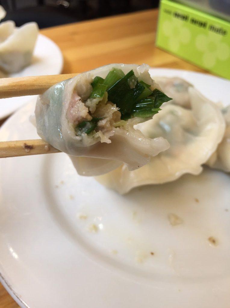 馬さん餃子酒場 上野店 ニラ水餃子2
