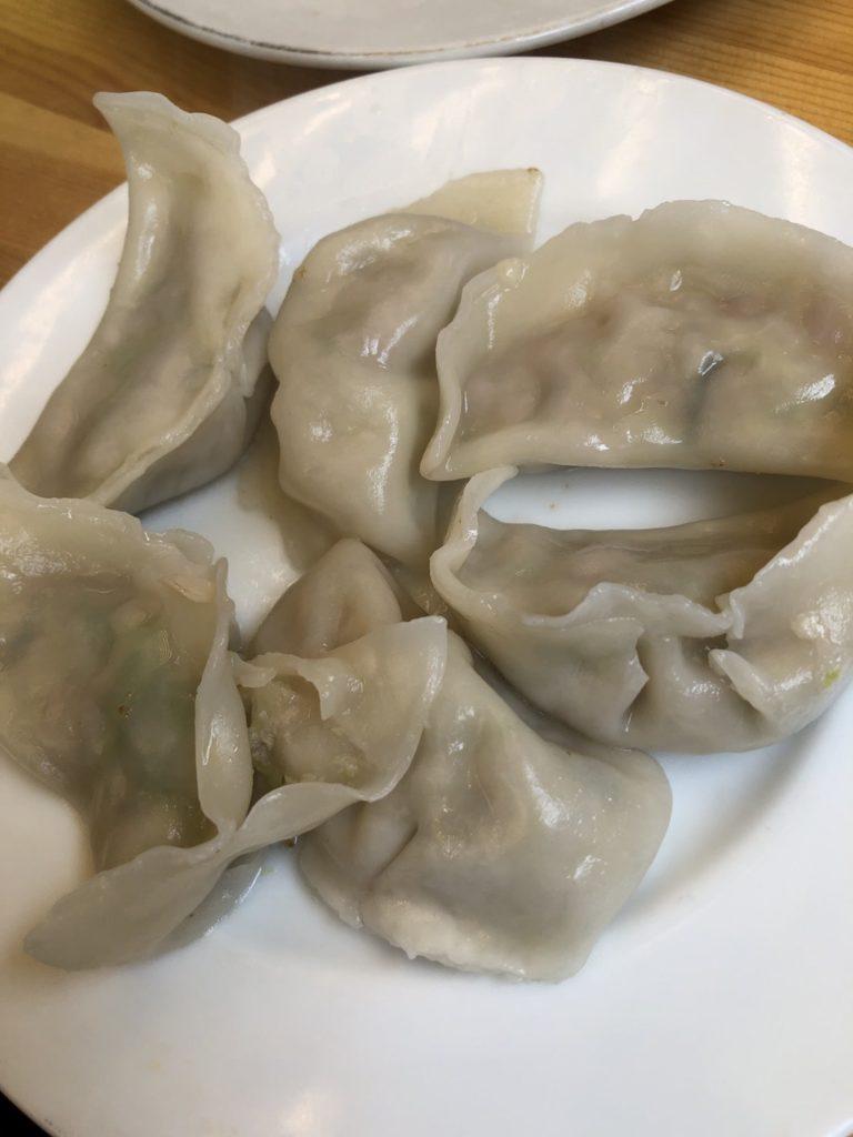 馬さん餃子酒場 上野店 白菜水餃子