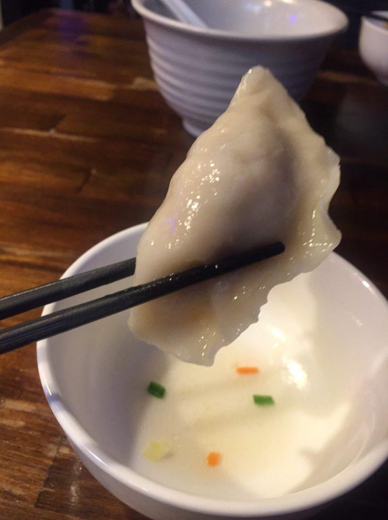 阿佐ヶ谷「餃子酒場」 水餃子2
