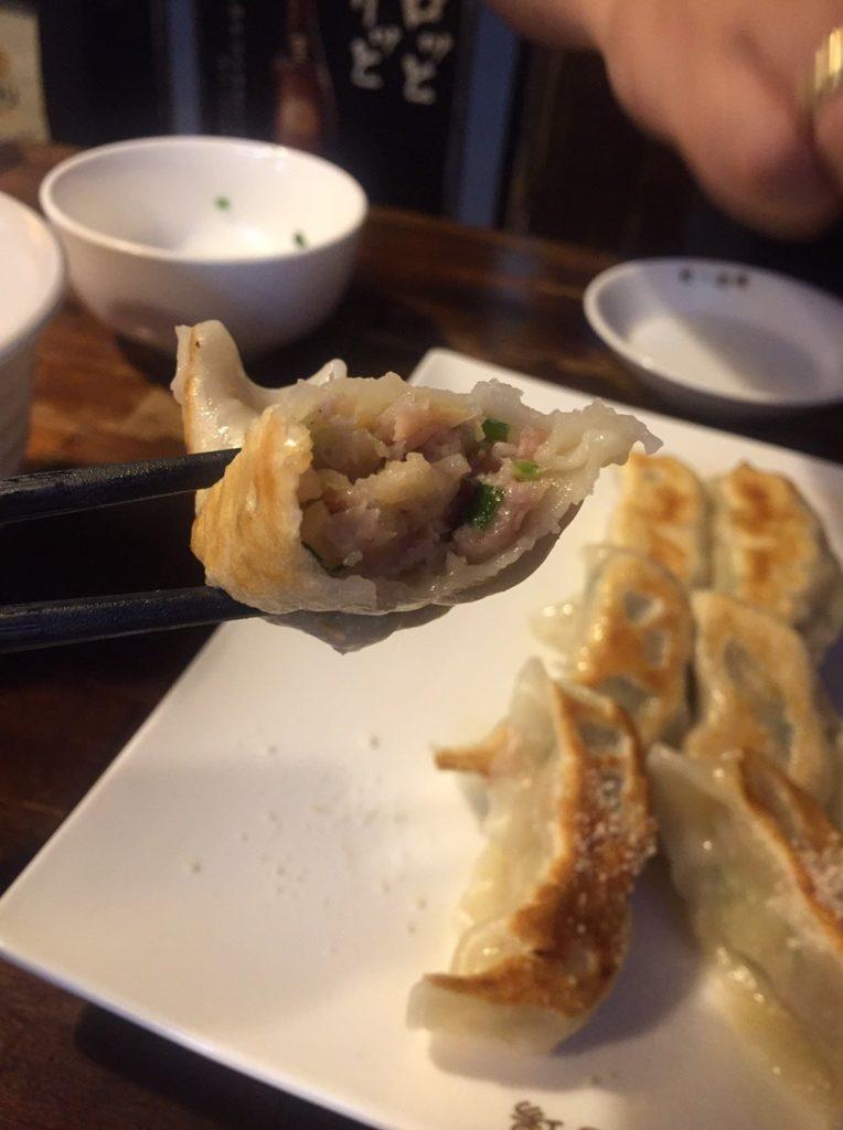 阿佐ヶ谷「餃子酒場」 焼き餃子2