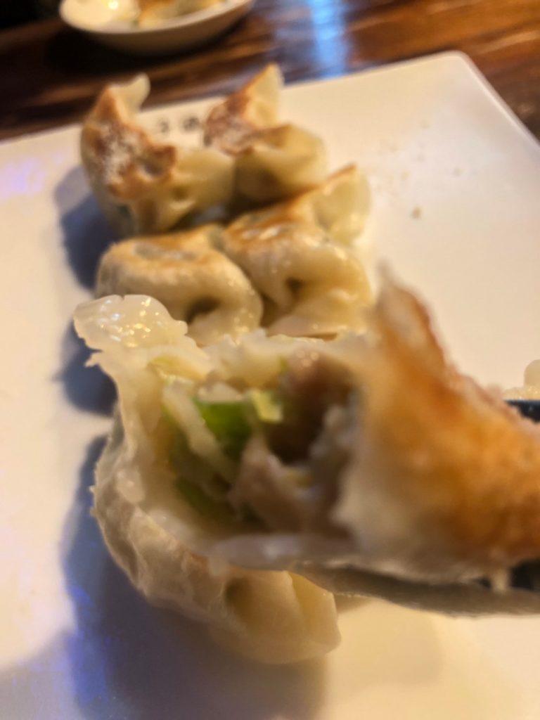 阿佐ヶ谷「餃子酒場」 焼き餃子4